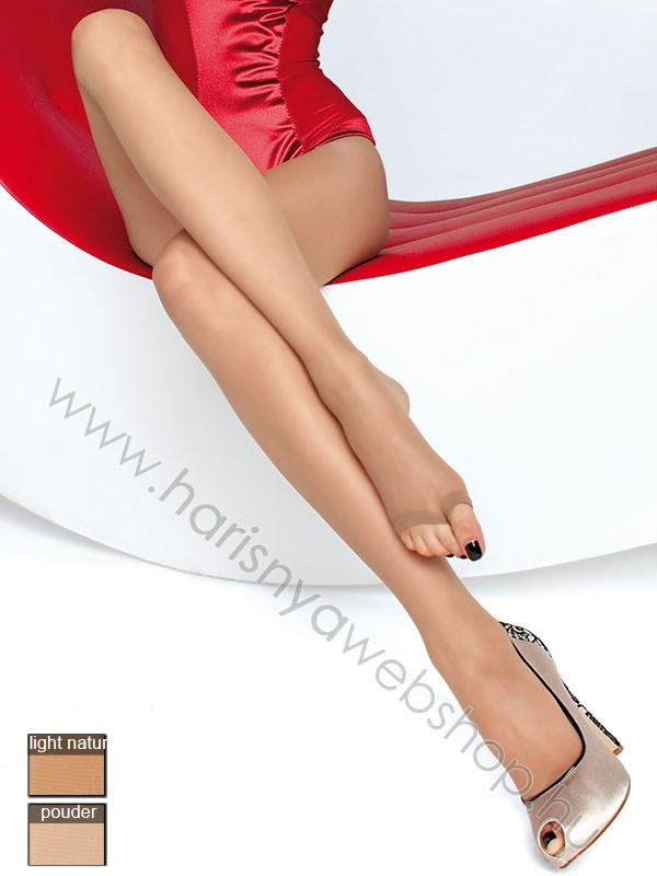 15 den Fiore, EVELINE lábujjpántos, lépésbetétes női